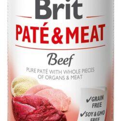 Brit Pate & Meat Dog Beef puszka 400g-1