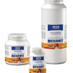 Mikita Megavit Multi-Vit Canis - witaminy, minerały i aminokwasy dla psów 400 tabl.-1