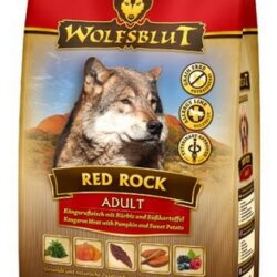Wolfsblut Dog Red Rock kangur i bataty 2kg-1