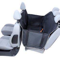 Kardiff Anti Slip mata samochodowa na tylne fotele z bokami L czarna-1