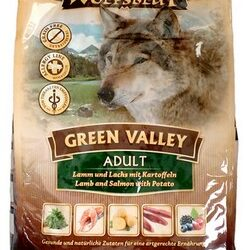 Wolfsblut Dog Green Valley jagnię, łosoś i ziemniaki 15kg-1