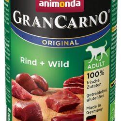 Animonda GranCarno Adult Rind Wild Wołowina + Dziczyzna puszka 400g-1