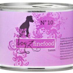 Dogz Finefood N.10 Jagnięcina puszka 200g-1