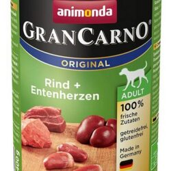 Animonda GranCarno Adult Rind Entenherzen Wołowina + Serca kacze puszka 400g-1
