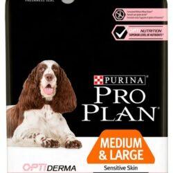 Purina Pro Plan Adult 7+ Medium & Large OptiDerma Sensitive Skin 3kg-1