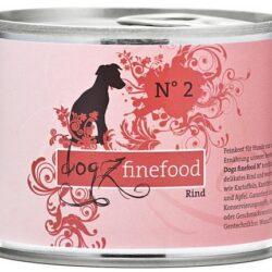 Dogz Finefood N.02 Wołowina puszka 200g-1