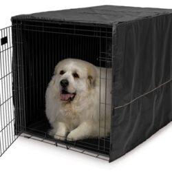 MidWest Pokrowiec na klatkę dla psa 122x76x84cm [CVR-48]-1