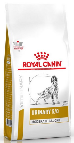 Royal Canin Veterinary Diet Canine Urinary S/O Moderate Calorie 12kg-1