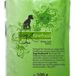Dogz Finefood N.04 Kurczak i bażant saszetka 100g-1