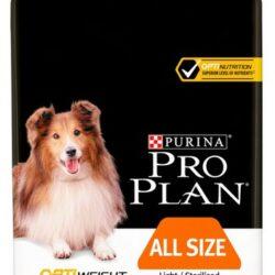 Purina Pro Plan Adult All Size OptiWeight Light/Sterilised 3kg-1