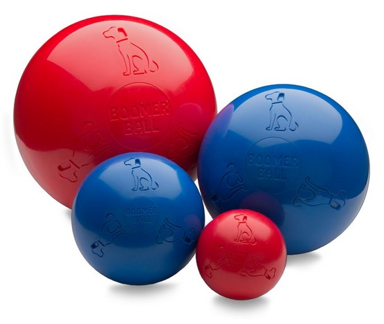 "Boomer Ball XL - 10"" / 25cm czerwona-3"