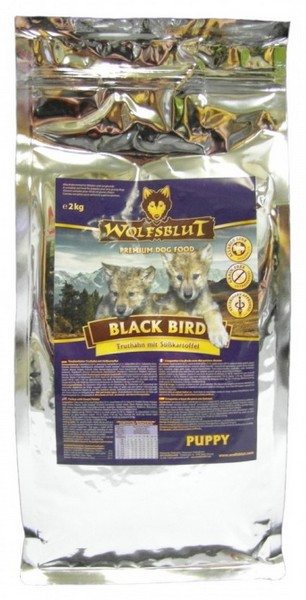 Wolfsblut Dog Black Bird Puppy - indyk i bataty 15kg-1