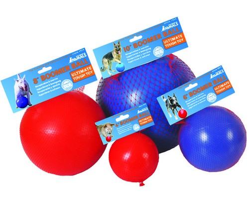 "Boomer Ball XL - 10"" / 25cm czerwona-2"