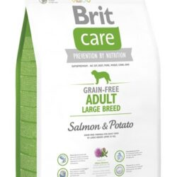 Brit Care Grain Free Adult Large Salmon & Potato 3kg-1