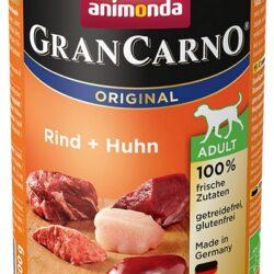 Animonda GranCarno Adult Rind Huhn Wołowina + Kurczak puszka 400g-1