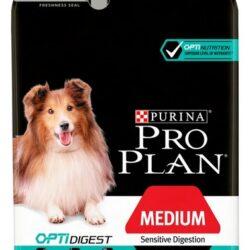 Purina Pro Plan Adult Medium Sensitive Digestion OptiDigest 3kg-1
