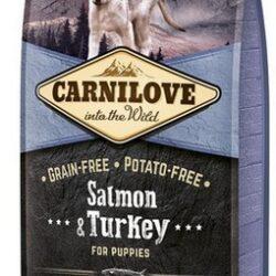 Carnilove Dog Salmon & Turkey Puppy - łosoś i indyk 1,5kg-1