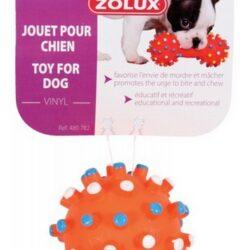 Zolux Zabawka winylowa piłka z wypustkami 7cm [480782]-1