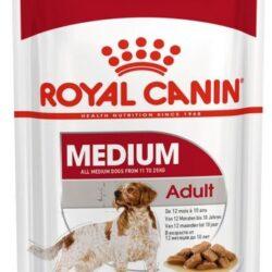 Royal Canin Medium Adult karma mokra dla psów dorosłych, ras średnich saszetika 140g-1