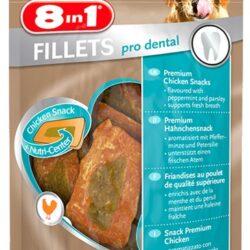 8in1 Fillets Pro Dental - przekąska na świeży oddech 80g-1