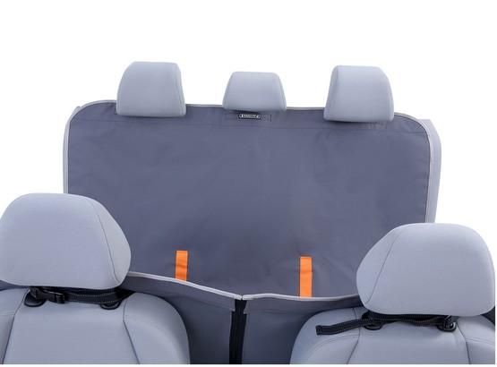 Kardiff Anti Slip mata samochodowa na tylne fotele z zamkiem i bokami S czarna-4