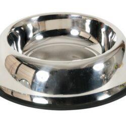 Zolux Miska Inox na gumie 15cm 0,25L [475475]-1