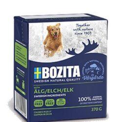 Bozita Dog Tetra Recart z łosiem w galaretce kartonik 370g-1