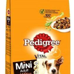 Pedigree Adult Mini Wołowina, warzywa 12kg-1