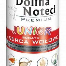 Dolina Noteci Premium Pies Junior Serca wołowe puszka 400g-1