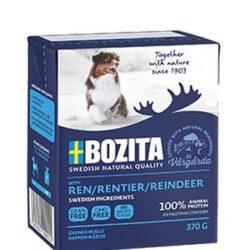 Bozita Dog Tetra Recart z reniferem w galaretce kartonik 370g-1