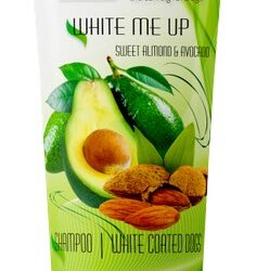 Botaniqa White Me Up Sweet Almond & Avocado Szampon - połysk i blask 250ml-1