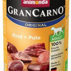Animonda GranCarno Adult Rind Pute Wołowina + Indyk puszka 400g-1