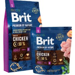 Brit Premium By Nature Adult S Small 1kg-1