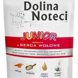 Dolina Noteci Premium Pies Junior Serca wołowe saszetka 300g-1