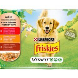 Friskies Dog Adult saszetki 4x100g-1