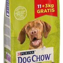 Purina Dog Chow Adult Jagnięcina 14kg (11+3kg gratis)-1