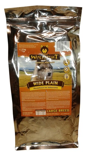 Wolfsblut Dog Wide Plain Large Breed konina i bataty 15kg-1