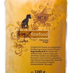 Dogz Finefood N.08 Indyk i koza saszetka 100g-1