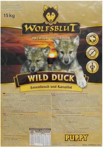 Wolfsblut Dog Wild Duck Puppy kaczka i bataty 15kg-2