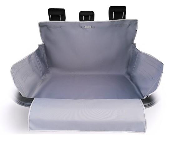 Kardiff Kardibag Protect Plus Mata do bagażnika z nakładką na zderzak L popielata-1
