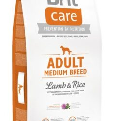 Brit Care New Adult Medium Breed Lamb & Rice 12kg-1