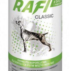 Rafi Pies Classic Dziczyzna i marchewka w sosie 1250g-1