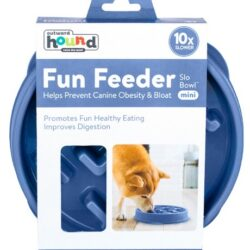 Outward Hound Fun Feeder Mini Miska niebieska [67830]-1