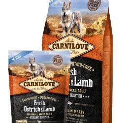 Carnilove Dog Fresh Ostrich & Lamb Adult Small - struś i jagnięcina 6kg-1