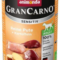 Animonda GranCarno Sensitiv Indyk + ziemniaki puszka 400g-1