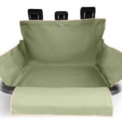 Kardiff Kardibag Protect Plus Mata do bagażnika z nakładką na zderzak L oliwkowa-1