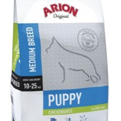 Arion Original Puppy Medium Chicken & Rice 12kg-1