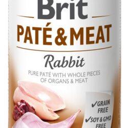 Brit Pate & Meat Dog Rabbit puszka 400g-1