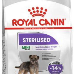 Royal Canin Mini Sterilised karma sucha dla psów dorosłych, ras małych, sterylizowanych 8kg-1