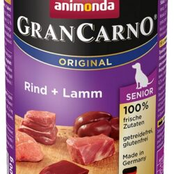 Animonda GranCarno Senior Rind Lamm Wołowina + Jagnięcina puszka 400g-1